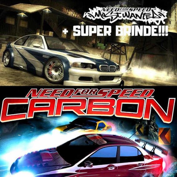 4 Jogos Digital Pc Need For Speed Undergrounds + Mw + Carbon