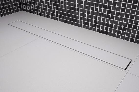 Kit 02 Ralos Lineares Invisível Oculto 50cm Branco Tigre
