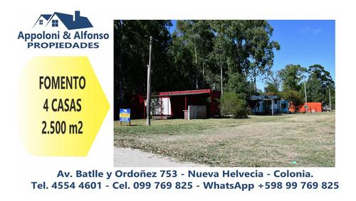Complejo De 4 Casas En Balneario Fomento