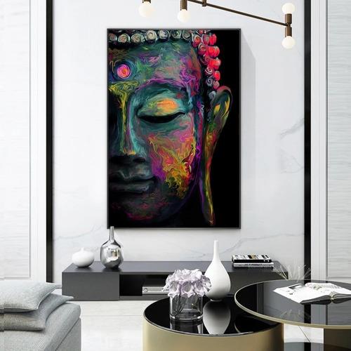 Imagen 1 de 9 de  Cuadro-buda 1-moderno,decorativo,120x85cm-16k Resolución