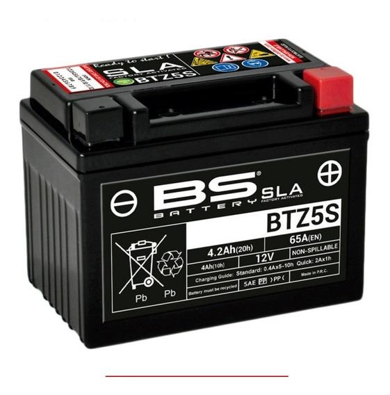 Batería Moto Agm Bs Battery Btz5s Yamaha Yzf R15