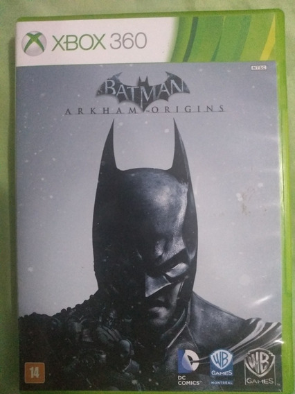 Jogo Xbox 360 Batman Arkham Origins