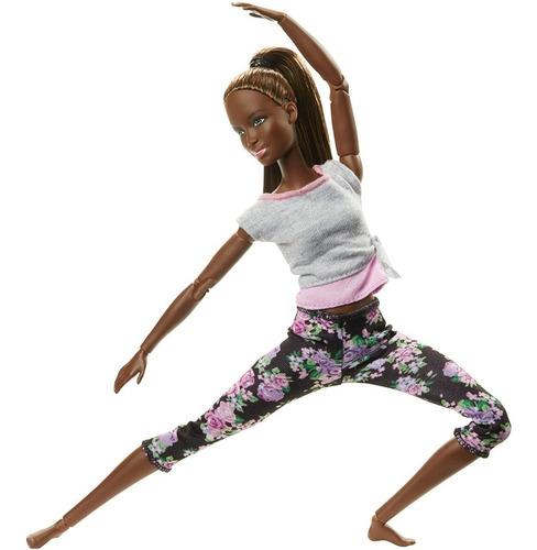 Muñeca Barbie Articulada 22 Extremidades Made To Move