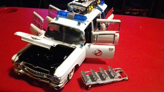 Miniatura Carro Caça Fantasmas 1:18 O Mais Completo De Todos