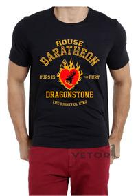Camisa Camiseta Game Of Thrones Got Série Casa Baratheon