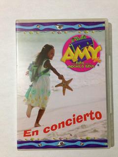 Dvd Danna Paola Amy La Niña De La Mochila Azul En Concierto