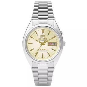 Relógio Orient Automático Masculino Champanhe 469wa3 C1sx