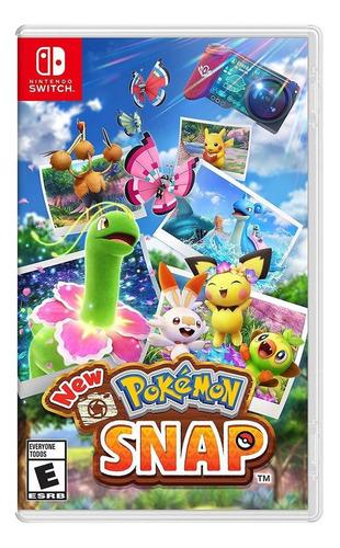 Imagen 1 de 4 de Nintendo Switch Físico New Pokémon Snap Standard Edition