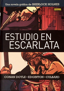 Estudio En Escarlata - Sherlock Holmes Comic Novela Grafica