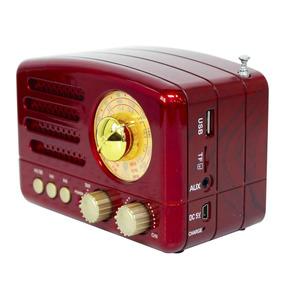 Rádio Meier M-160bt Am/fm/sw Bluetooth Vermelho Frete Grátis