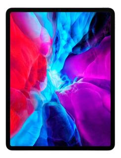 """iPad Apple Pro 4ª Generación 2020 A2232 12.9"""" 128GB silver con memoria RAM 6GB"""