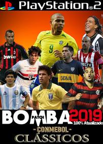 Bomba Patch Conmebol Classics, Jogo Ps2.