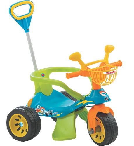 Triciclo Andador Super Cross Azul - Biemme