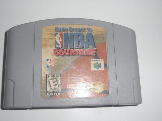 Kobe Bryant In Nba Courtside - Original Nintendo 64