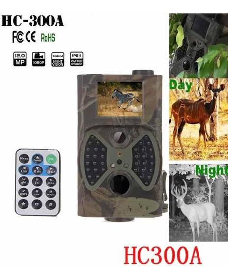 Câmera De Trilha Hc300a -caça / Vigilância/ 12mp