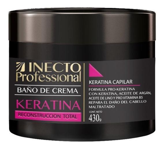 Baño De Crema Inecto Professional Keratina X 430g