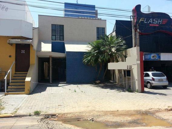Casa Comercial Para Locação, Jardim Guanabara, Campinas - Ca2132. - Ca2132