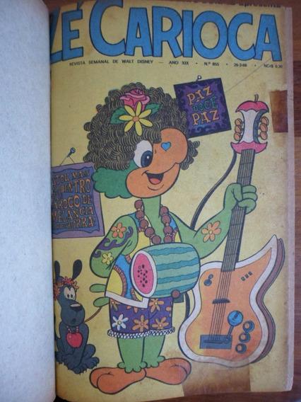 Coleção Encadernada 92 Gibis Zé Carioca De 1966 A 1972