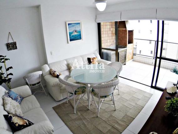 Apto 4 Dorms., Terraço Gourmet, Lazer, Astúrias - V1182