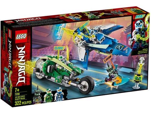 Lego Ninjago Veiculos De Corrida Do Jay E Lloyd