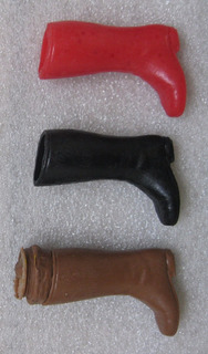 Botas Mego, Superman, Captain Action, Gi Joe, Max Steel,12