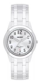 Relógio Orient Prateado Feminino Mbss1132a S2sx Nota Fiscal