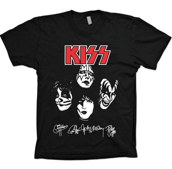Camisa Bandas Rock Monster - Kiss - 100% Algodão!!