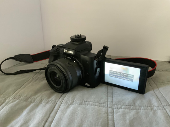 Canon Eos M50 + Ef-m 15-45mm + Cartão De Memória