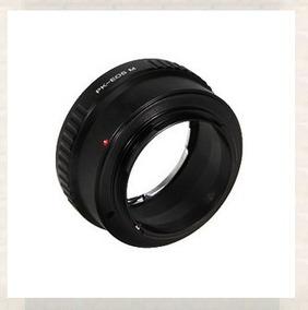 Adaptador De Lente Pentacon Para Canon Eos Micro Anel