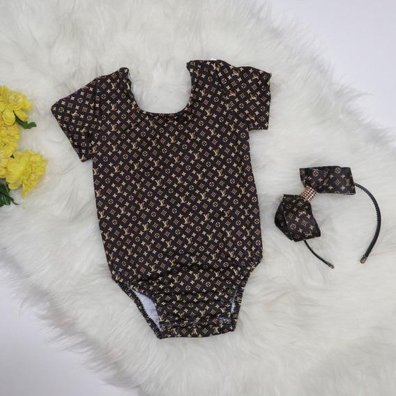 Body Infantil - Baby Mini Diva - Fashion .