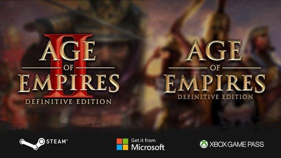 Age Of Empires Definitive 2 Já Com Novas Expansões Original