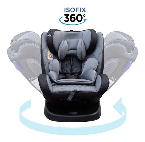 Imagen 1 de 7 de Butaca Bebe Isofix  Reclinable 0/36 Kg Gira 360 Mega Baby