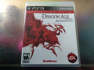 Juego De Playstation 3,dragon Age Awakening Origins
