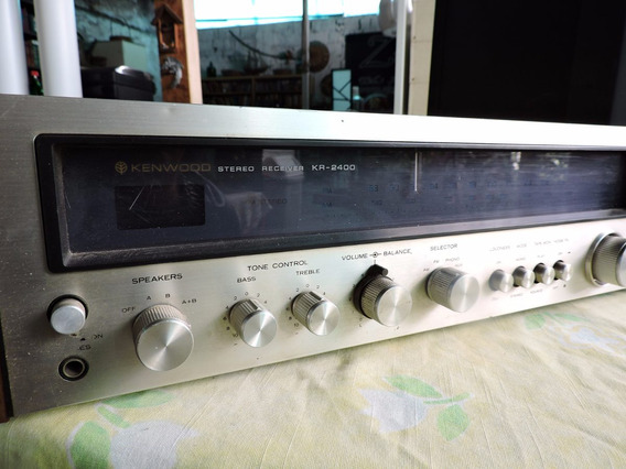 Amplificador Kenwood Receiver Kr 2400