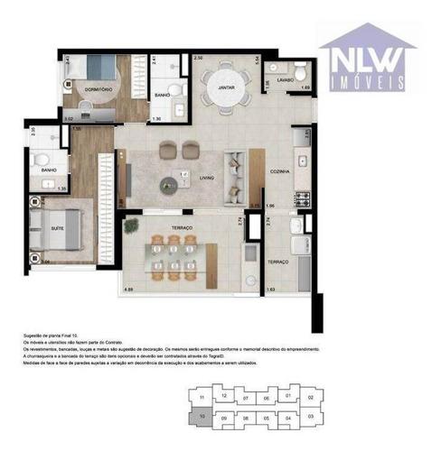 Imagem 1 de 25 de Apartamento Com 2 Dormitórios À Venda, 85 M² Por R$ 885.650,00 - Tatuapé - São Paulo/sp - Ap2686