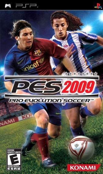 Jogo Psp - Lacrado - Pes 2009 - Game Psp