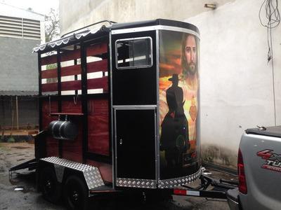 Trailer Reboque Carretinha 2 Cavalos Com Cama Zero Km