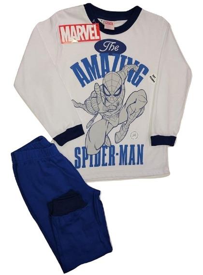 Pijamas Nene Manga Larga Disney Talle 4 Al 10!!! Niño!!!