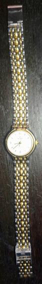Relógio Feminino Backer, Dourado E Prateado