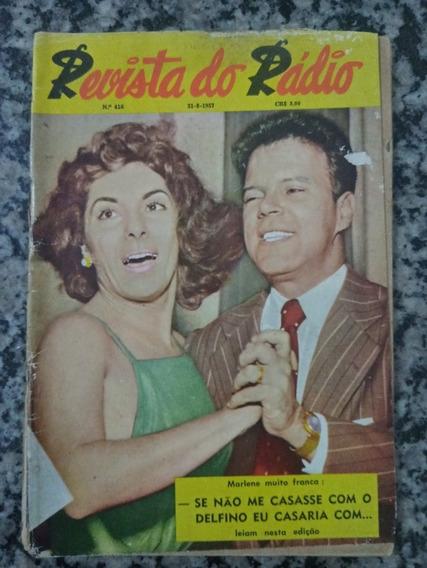 Revista Do Radio N° 416 - 1957 Marlene