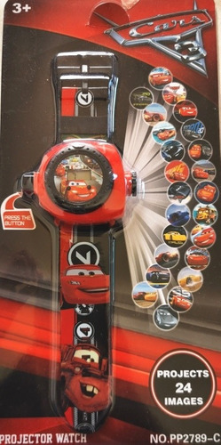 Reloj Cars Proyector 24 Imágenes Diferentes /napetty