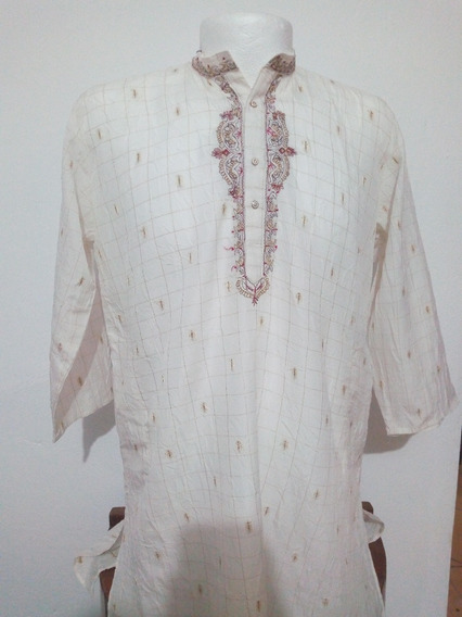 Kurta Hindu, Camisa De Hombre Talla Ml Mod.003 (manga 3/4)