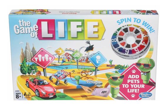 the Game Of Life Juego De Mesa Cartas **original** Hasbro