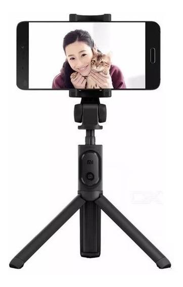 Tripé Com Controle Bluetooth - Pau De Selfie Xiaomi Original