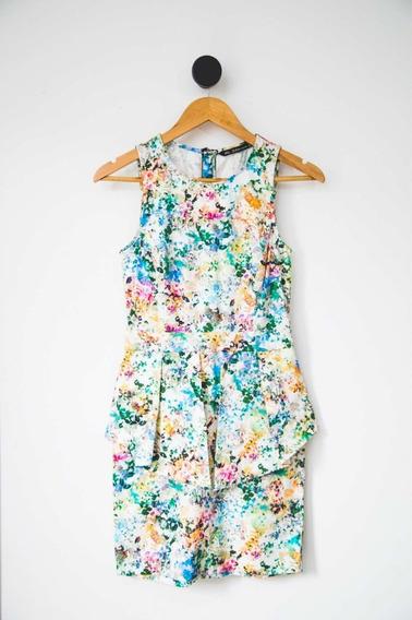 Vestido Estampado - Aquarela Zara