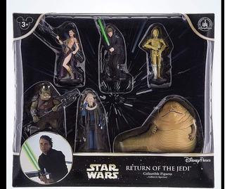 Star Wars Return Of The Jedi Jabba C3po Set 6 Figuras