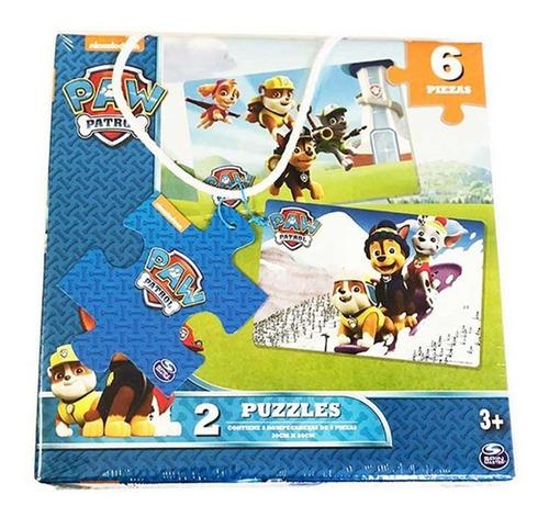 Imagen 1 de 3 de Puzzle Paw Patrol 6 Piezas 1605 Rompecabezas Full Educando