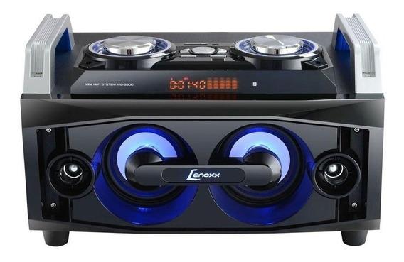 Mini System Lenoxx Speaker Boom 150w Bluetooth Ms8300 Preto