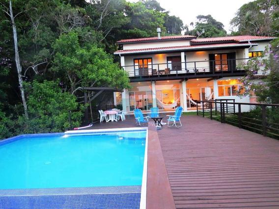 Casa Com 4 Dorms, Ponta Das Toninhas, Ubatuba - R$ 2.56 Mi, Cod: 1230 - V1230