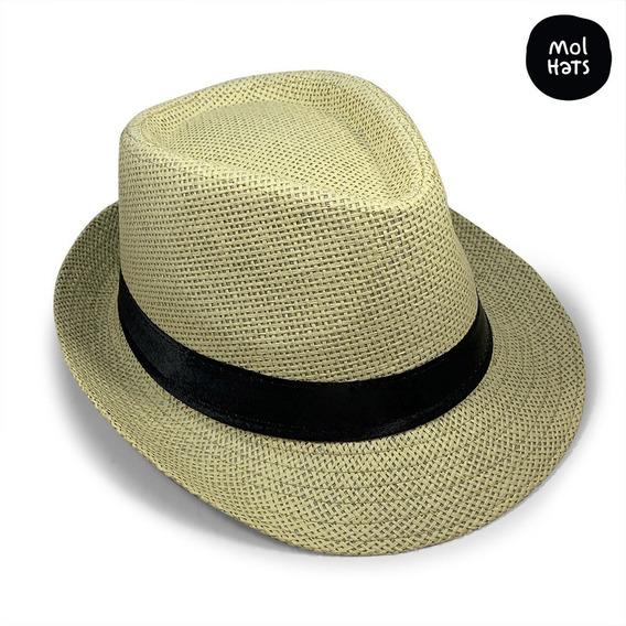 Sombrero Panamá Calidad Premium Solero Unisex Envío Gratis